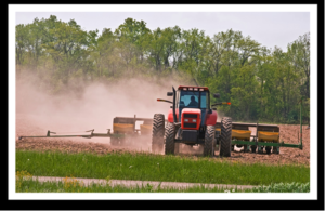 Planting herbicide tolerant crops (photo from Wild Ones Wild for Monarchs)