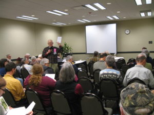 Expert speakers will be available to share their knowledge about native plants and biodiversity. John Stiefel is shown here.