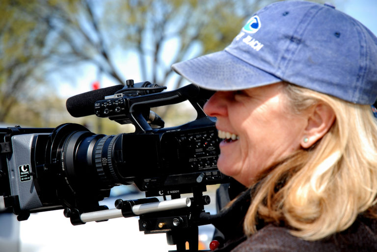 Catherine Zimmerman. Photo by Catherine's film crew.